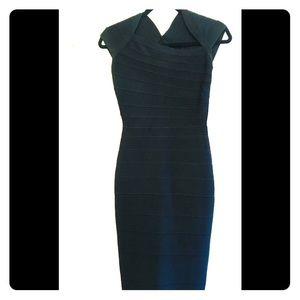 Herve Leger black dress size XS